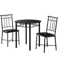 Best Small Black 3-Piece Dining Set Rundown