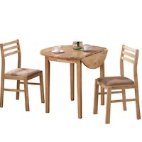 Best Wooden 3-Piece Dining Set For Small Space Rundown