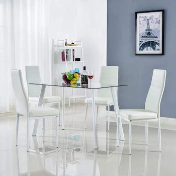 Bonnlo Dining Table And Chairs Under $200