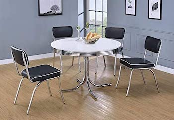 Bowery Hill 42'' Round Retro Table
