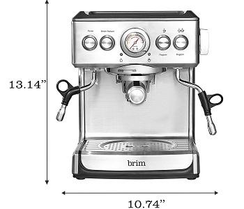 Brim 19 Bar Espresso Machine