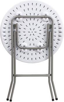Flash Furniture Granite White Table