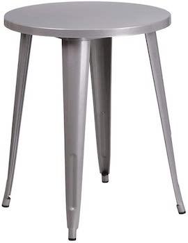 Flash Furniture Metal Table 24 Inch