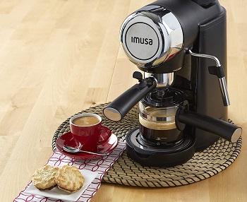 Imusa USA 4 Cup Cappuccino Maker