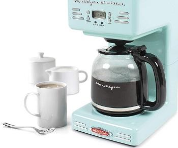 Nostalgia RCOF12AQ Coffee Maker