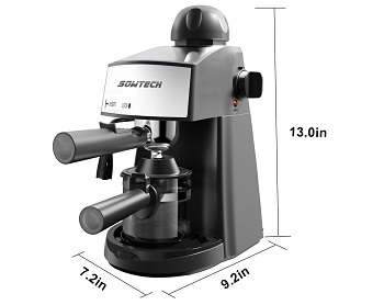 Sowtech 4 Cup Cappuccino Machine