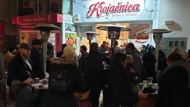 Top Street Foods in Zagreb - Street Food Krojačnica