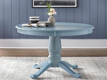 Best Antique 30 Inch Round Pedestal Table