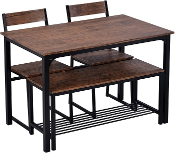 Best Home 3 Chair Dining Set