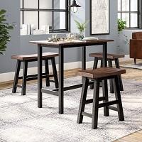Best Rectangular 3 Chair Dining Set Rundown
