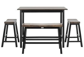 Best Rectangular 3 Chair Dining Set