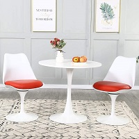 Best Round Modern 3 Piece Dining Set Rundown