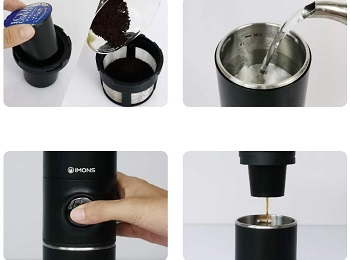 Best Single Cup Battery Operated Coffee Maker For Camping