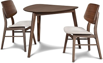 Best Small Modern 3 Piece Dining Set