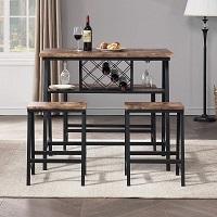 Best Wooden 3 Chair Dining Set Rundown