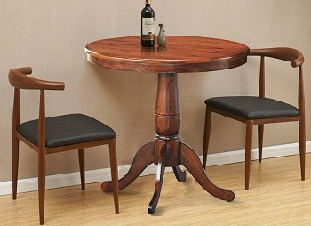 Best Wooden 32 Inch Round Dining Table