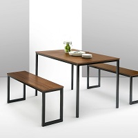 Best Wooden Modern 3 Piece Dining Set Rundown