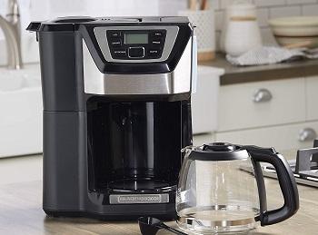 Black+Descker Mill & Brew Coffeemaker