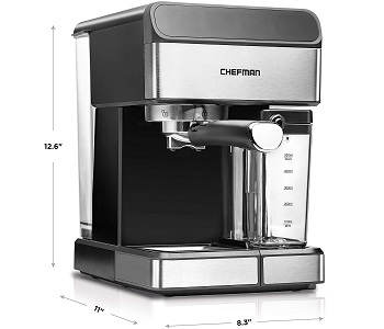 Chefman 6-in-1 Espresso Latte Maker