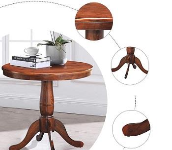 Giantex Wooden Pub Table