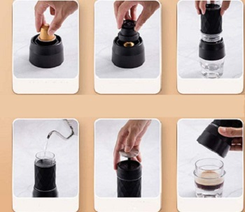 Gutyre Portable Espresso Machine