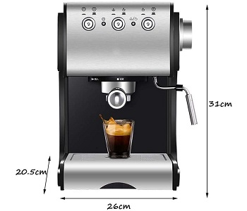 Kivias Fully Automatic Coffee Machine