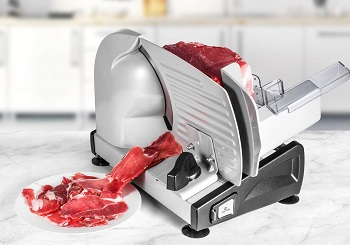 Ostba Electric Deli Food Slicer