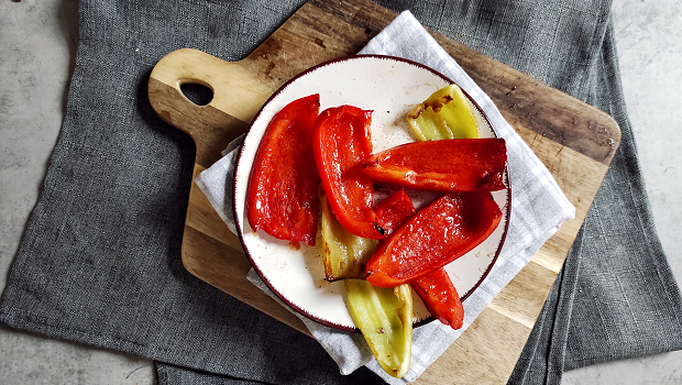 Ražnjići - Grilled Bell Peppers
