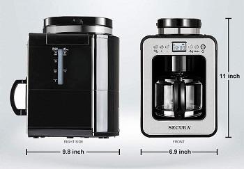 Secura Automatic Coffee Maker