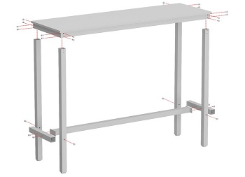Amner Counter Height Dining Table