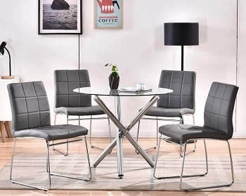 Bacyion Round Dining Table