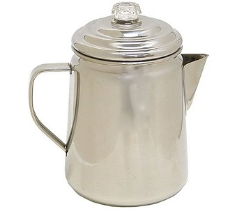 Best 12-Cup Camp Stove Coffee Maker