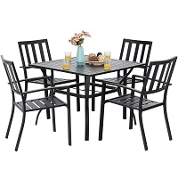 Best 5-Piece 4 Seater Outdoor Dining Set Rundown