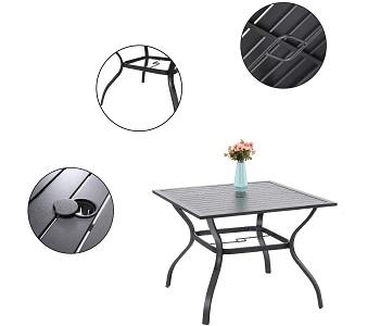 Best 5-Piece 4 Seater Outdoor Dining Set
