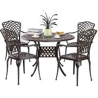 Best Aluminum 4 Seater Outdoor Dining Set Rundown