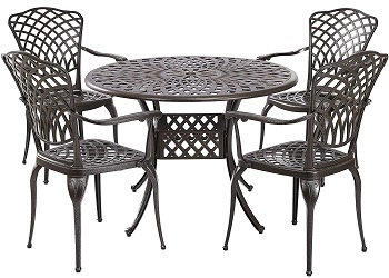 Best Aluminum 4 Seater Outdoor Dining Set