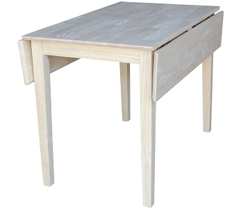 Best Drop Leaf 40 Inch Square Dining Table