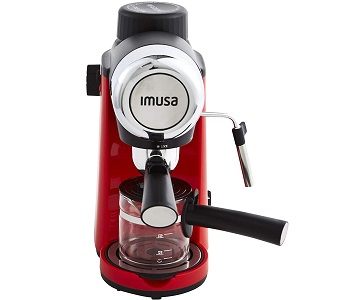 Best Espresso Red 4 Cup Coffee Maker