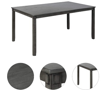 Best Family Dining Table 4 Chairs & Bench