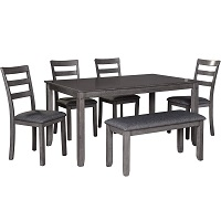 Best Farmhouse Dining Table 4 Chairs & Bench Rundown