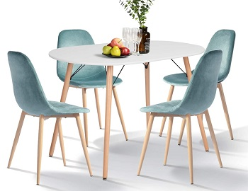 Best Farmhouse Modern 4 Seat Dining Table