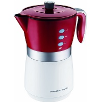 Best For Travel Red 5 Cup Coffee Maker Rundown