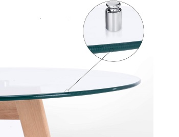 Best Glass 4 Seater Round Table