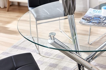 Best Glass Modern 4 Seat Dining Table