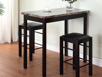 Best High Top 42 Inch Dining Table Set