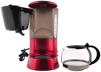 Best Home Red 4 Cup Coffee Maker