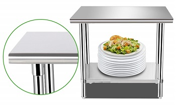 Best Kitchen 36-Inch Counter Height Table