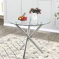 Best Kitchen 36-Inch Round Glass Dining Table Rundown