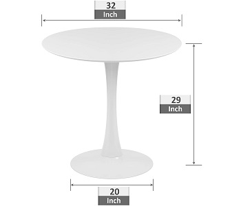 Best Modern Round Dining Table 4 Seater