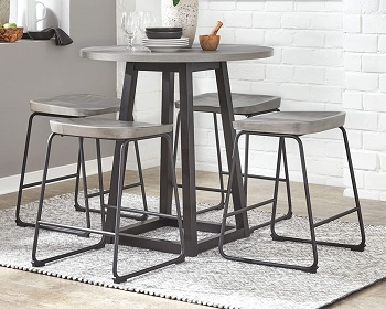 Best Of Best 36-Inch Round Counter Height Table